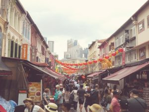 A street in Singapore's Chinatown