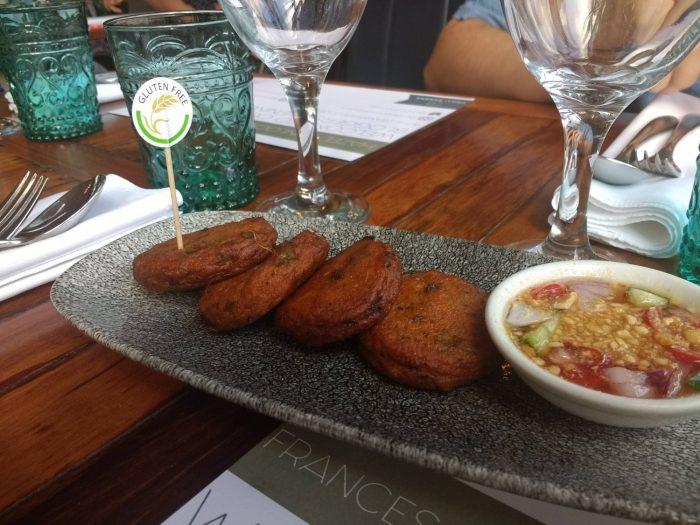 Thai Fishcakes at Chilli Banana Liverpool | Gluten Free Thai Food in Liverpool at Chilli Banana