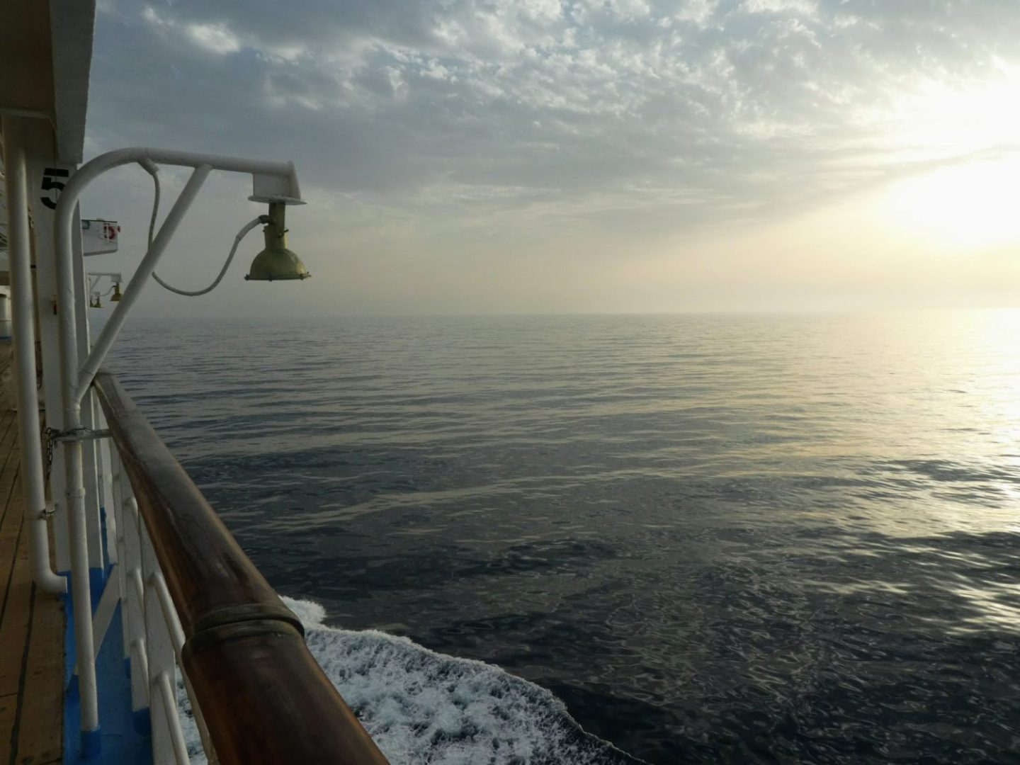 How do you survive over 10 hours at sea?