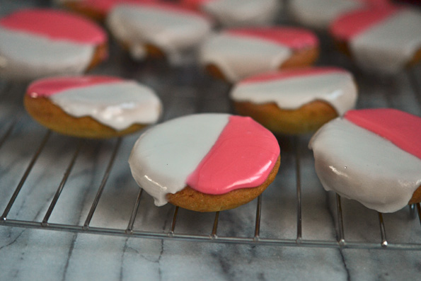 Pink Black Amp White Cookies For Gluten Free Valentines Day