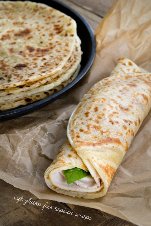 Soft Gluten-Free Tapioca Wraps