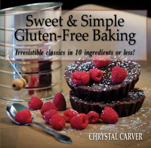 a photo of the Sweet & Simple Gluten Free Baking Cookbook