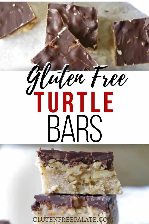 pinterest pin for turtle bars