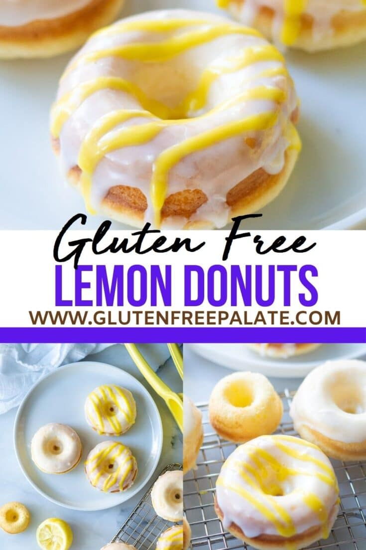 gluten free donuts pinterest pin collage
