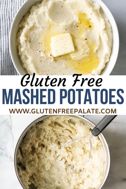 gluten free mashed potatoes pinterest pin