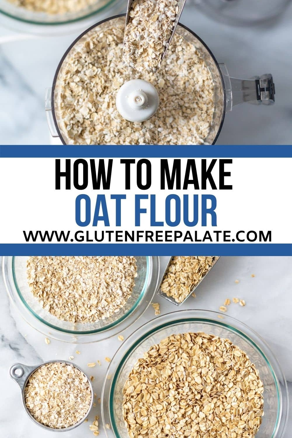 the words how to make oat flour