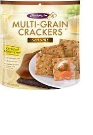 Sea Salt gluten free crackers