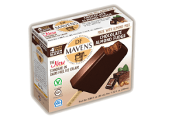 DF Mavens Chocolate Almond Fudge Bars