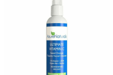 Azure Naturals Sweet Orange Infused Organic Vitamin C Facial Cleanser