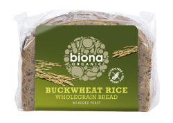 Biona Buckwheat Rice Bread, one of the best buckwheat bread brands
