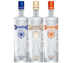 Devotion Vodka, one of the greatest Gluten free vodka brands