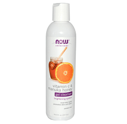 Now Foods Vitamin C and Manuka Honey Cleanser