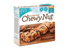 South Beach Diet Gluten Free Chewy Nut Bars