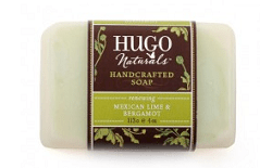Hugo Naturals, Handcrafted Soap, Mexican Lime & Bergamot