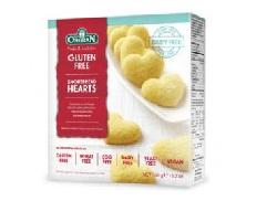 Orgran Shortbread Hearts Gluten Free Biscuits