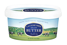 Butterfields lactose free butter