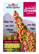 Andean Dream Organic Vegan Gluten Free Quinoa Pasta