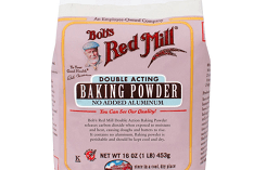 Bob's Red Mill Baking Powder, one of the best gluten free baking powder brands