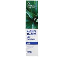 Desert Essence Natural Tea Tree Oil Toothpaste - Mint