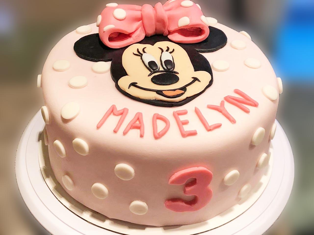 Gluten Free Kids Birthday Cake