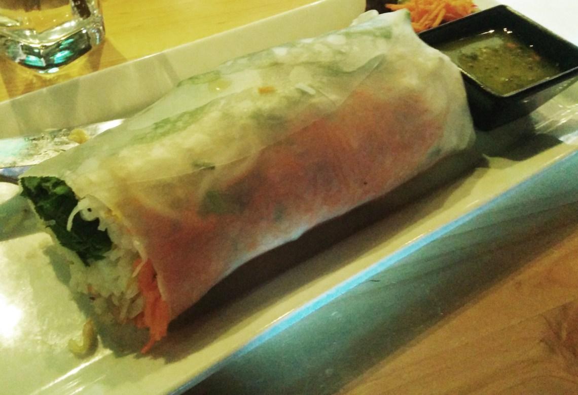 Rice fresh roll