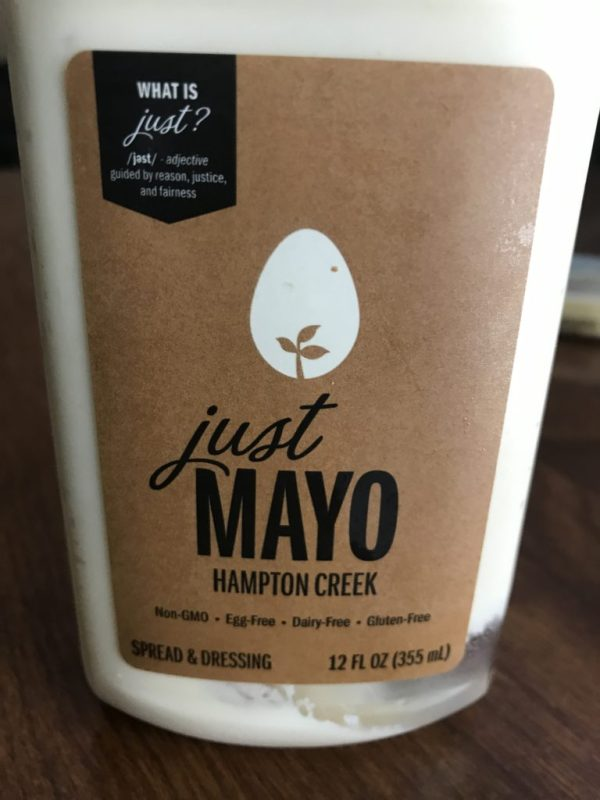 A picture of Just Mayo.
