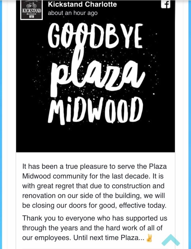 Kickstand closure announcement