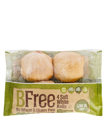 BFree Soft White Rolls are gluten-free, dairy-free, and soy-free