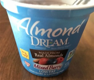 Almond Dream Mixed Berry yogurt