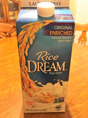 Rice Dream milk