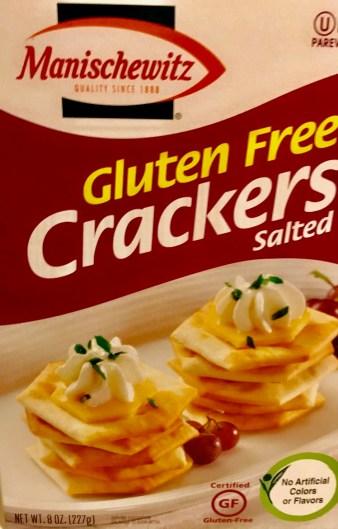 Manschewitz Gluten Free Crackers