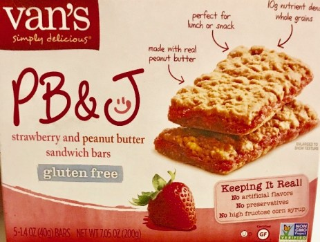 Van's Strawberry & PB Bars
