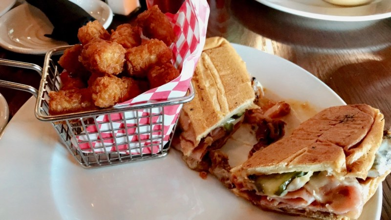 Trail House Cuban sandwich