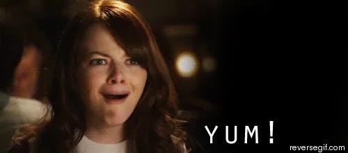Emma Stone yum face