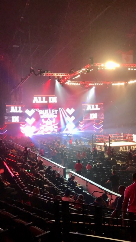 All In stage