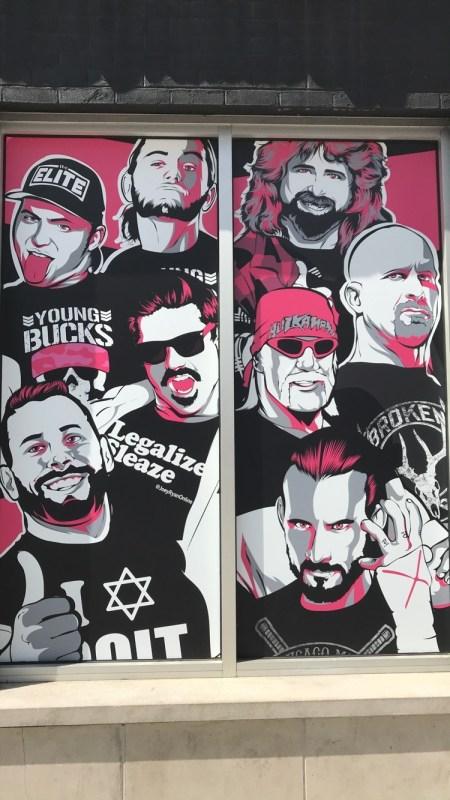 Pro Wrestling Tees artwork