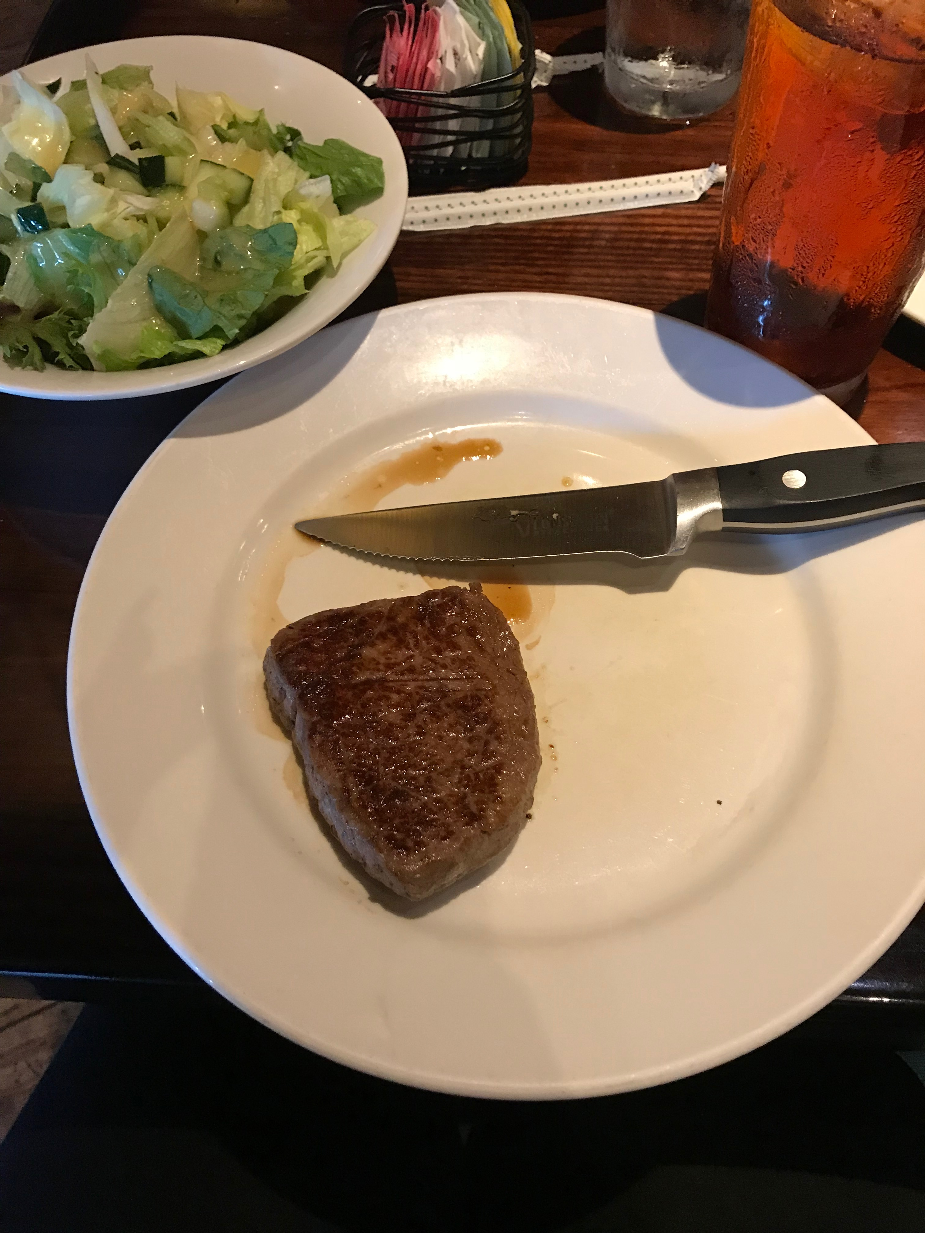 6 oz Sirloin steak