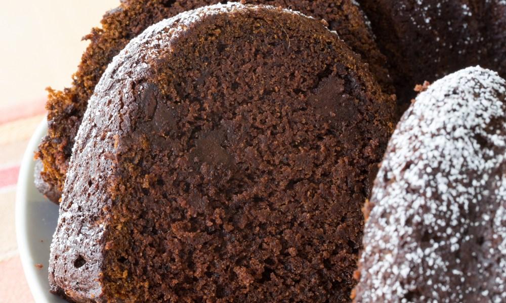 gluten-free pumpkin chocolate spice cake