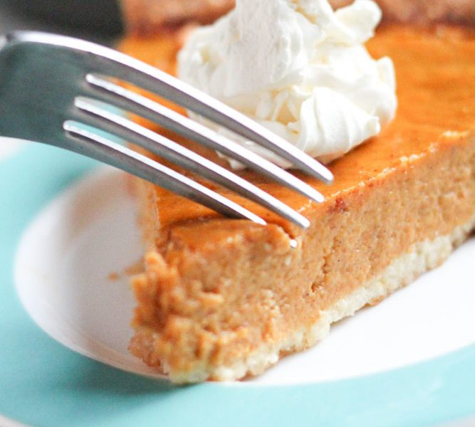 gluten free pumpkin pie easy