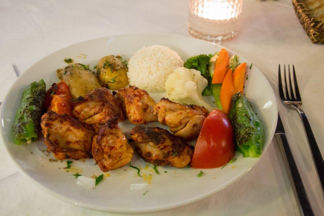 Abendessen glutenfrei in Istanbul, Türkei