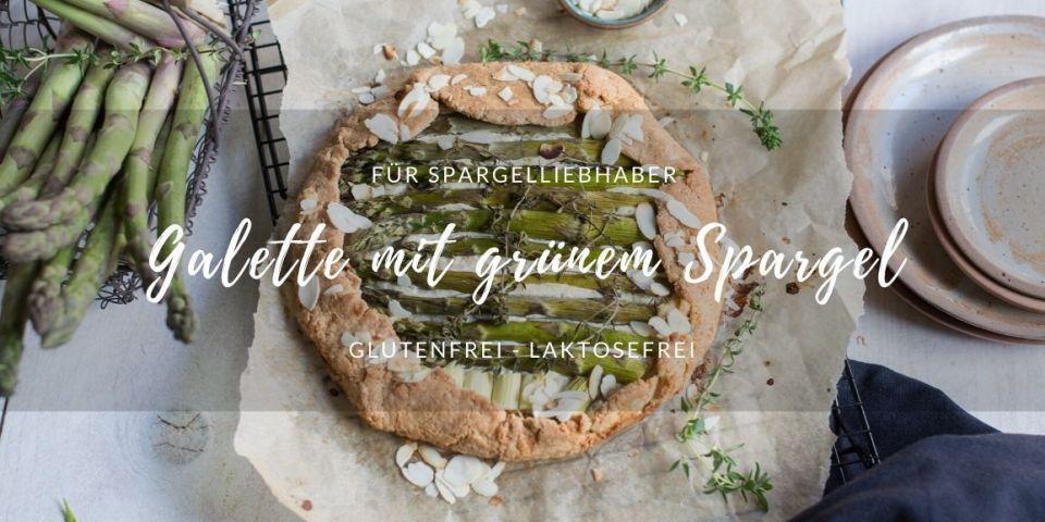 glutenfreie und laktosefreie Spargelgalette