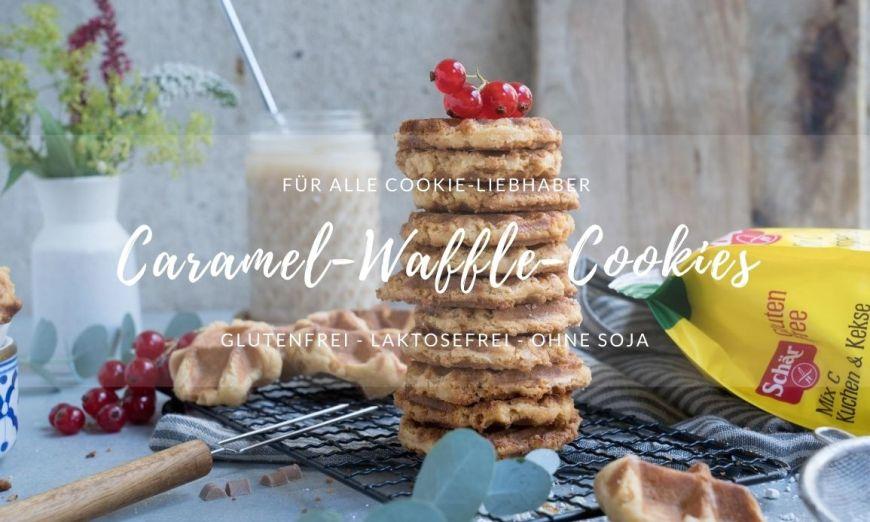 Rezept Waffle-Cookies mit Karamell