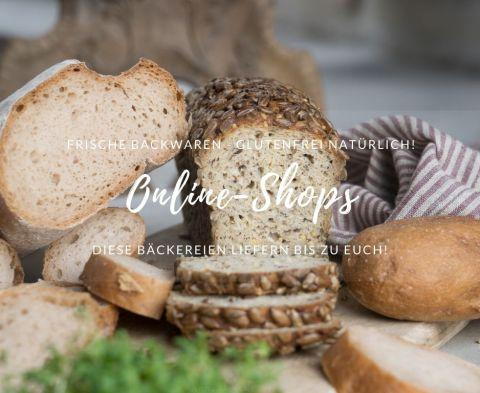 Online-Shops für frische glutenfreie Backwaren