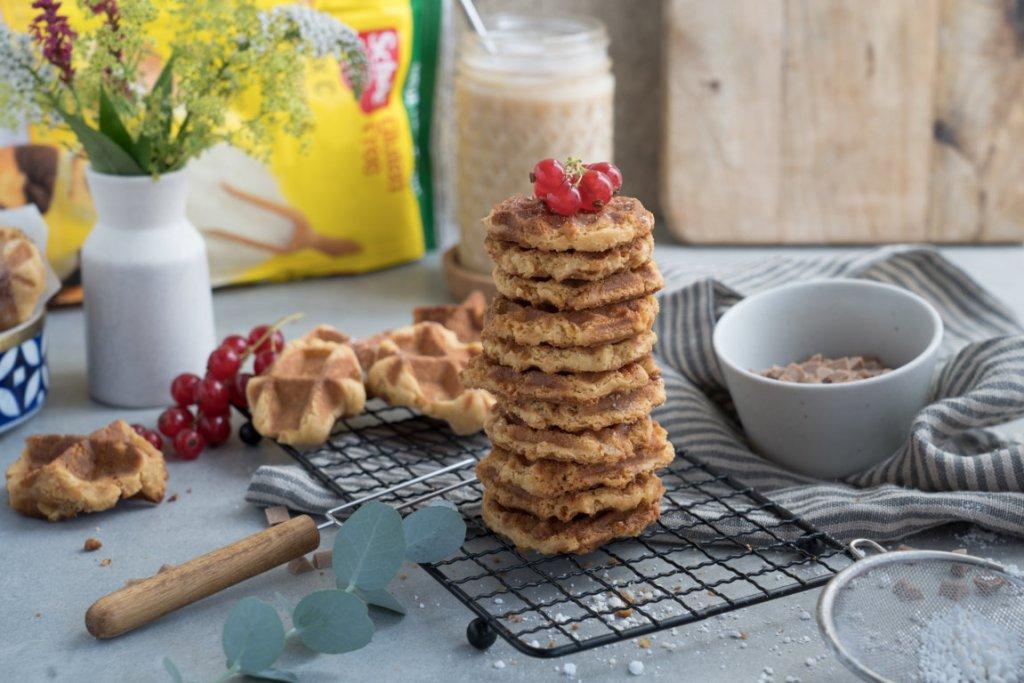 Waffle-Cookies mit selbstgemachtem Karamell sind einfach himmlisch!