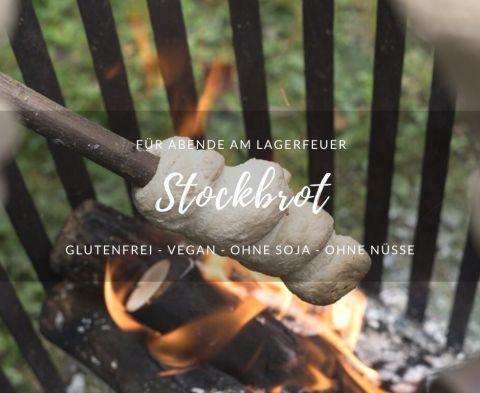 Rezept für glutenfreies Stockbrot