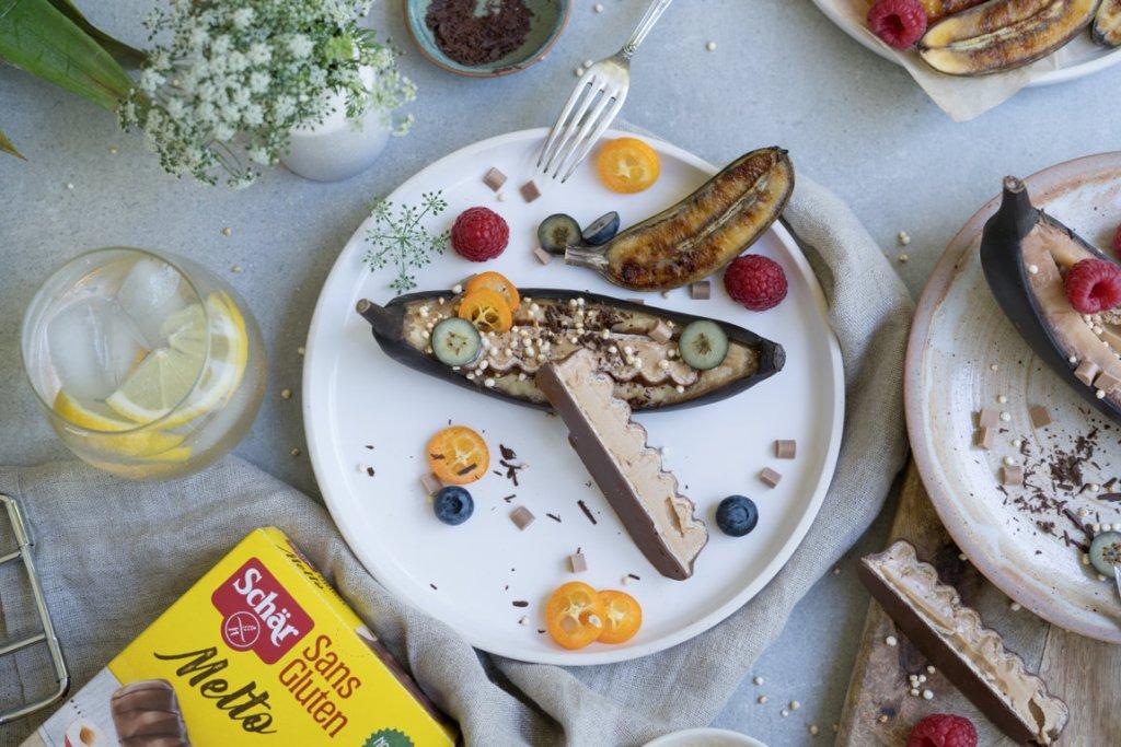 Grillbanane mit Melto