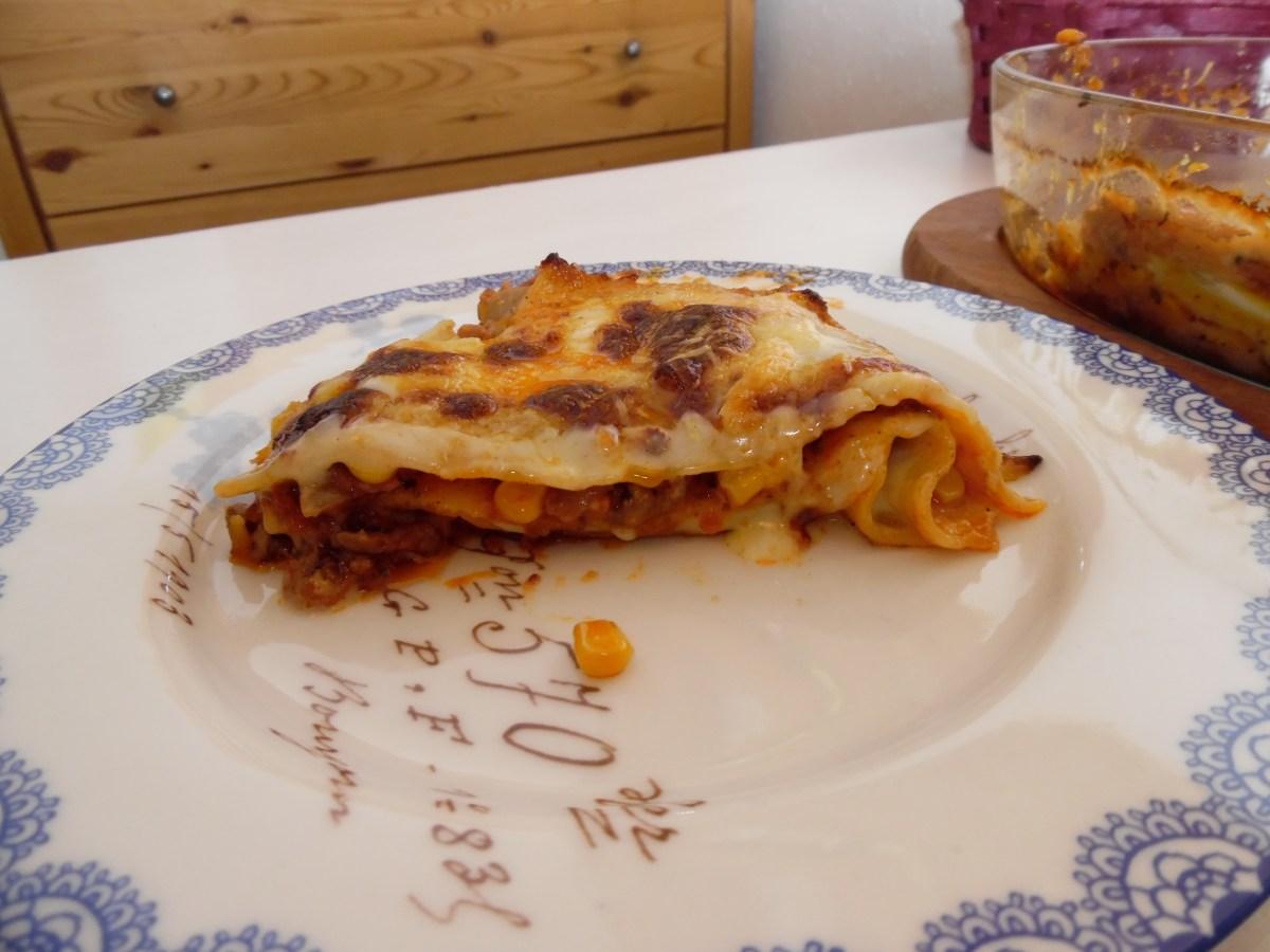 Glutenfri lasagne med hjemmelavet bechamelsauce