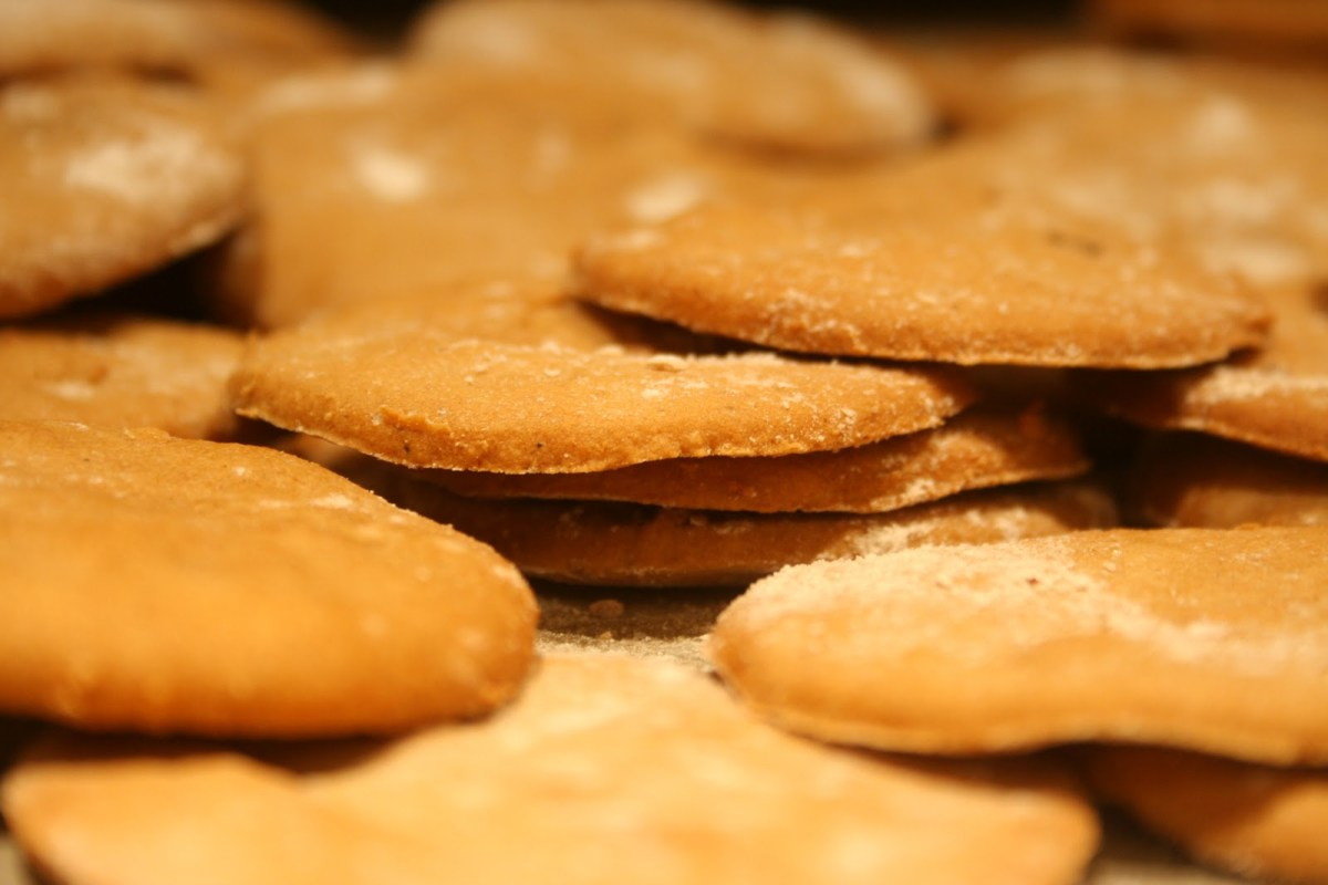Gluten- og melkefrie pepperkaker!
