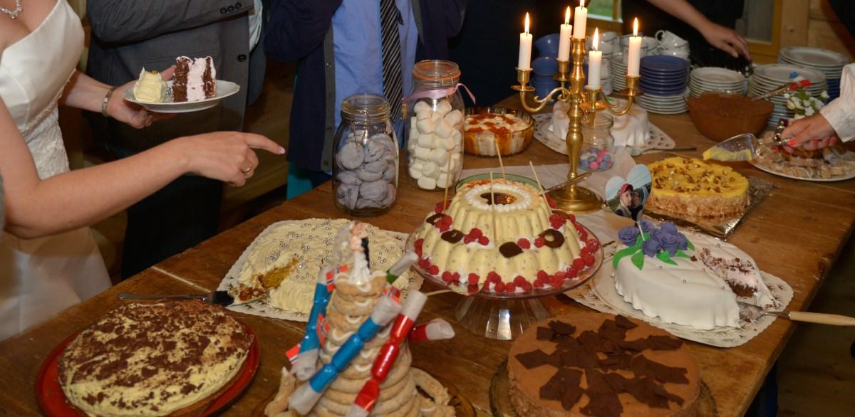 Kakebord til fest - helt uten gluten og melk