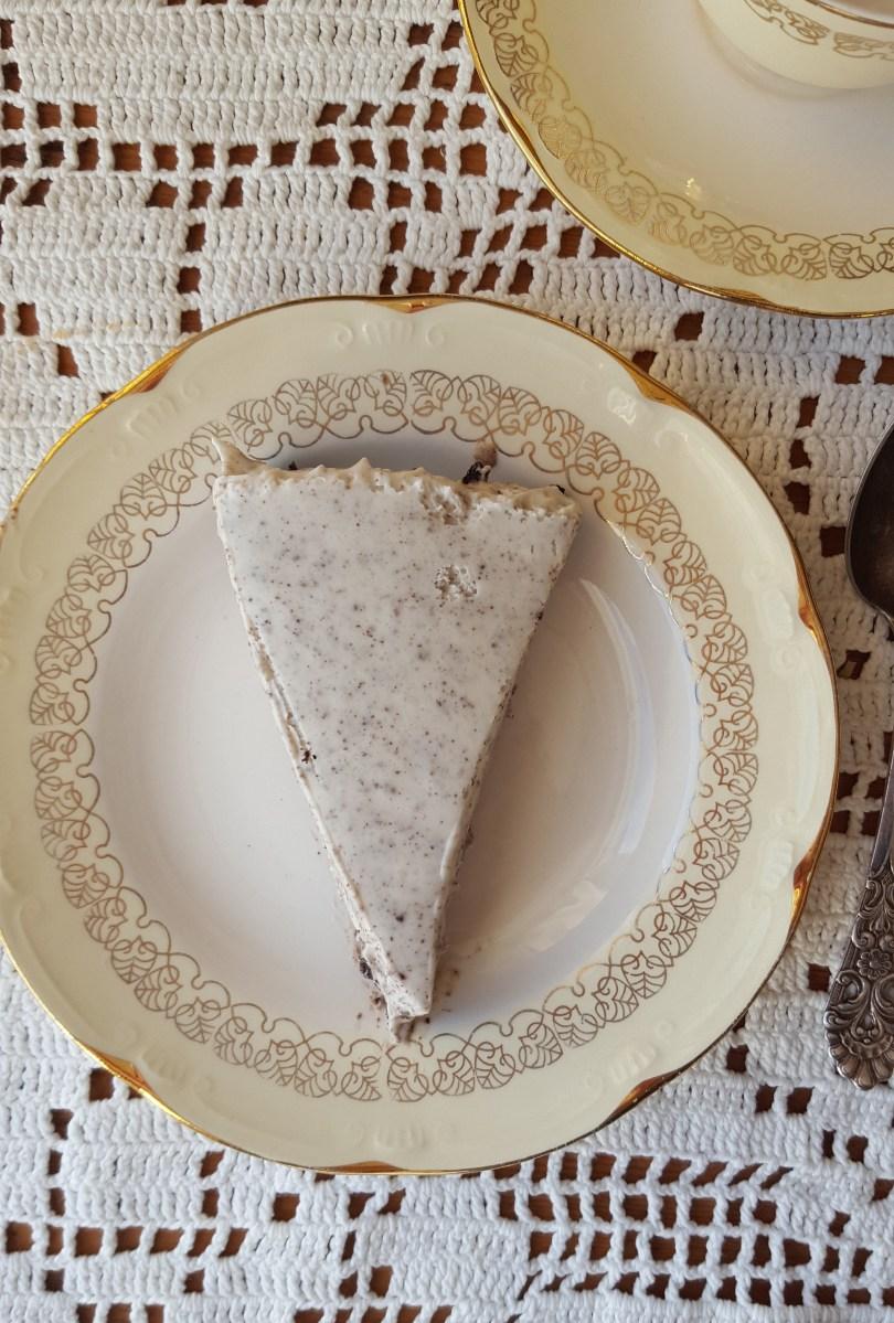 Gluten- og melkefri Oreoostekake uten soya